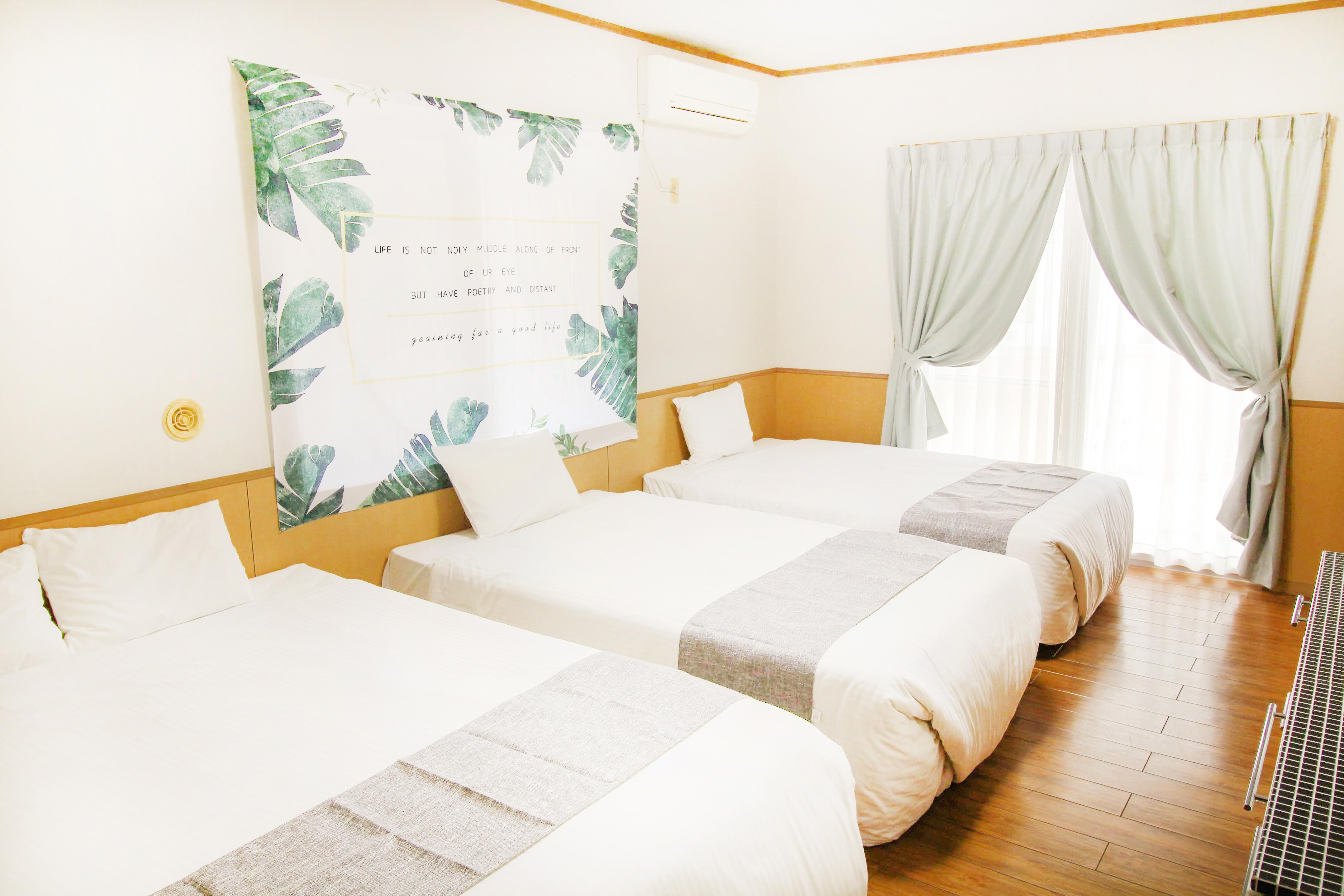 沖繩住宿-超值沖繩民宿-綠色莊園