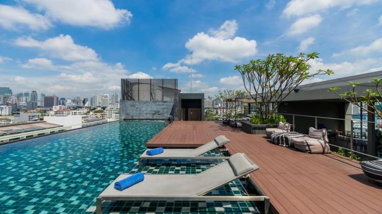 【無邊際泳池】通羅城市住宅飯店(Residence on Thonglor)