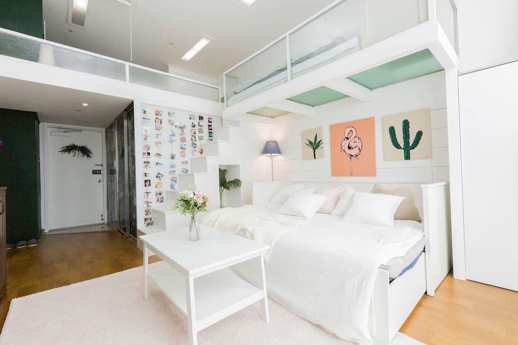 首爾住宿推薦-可住5人首爾包棟住宿-首爾陽光之家