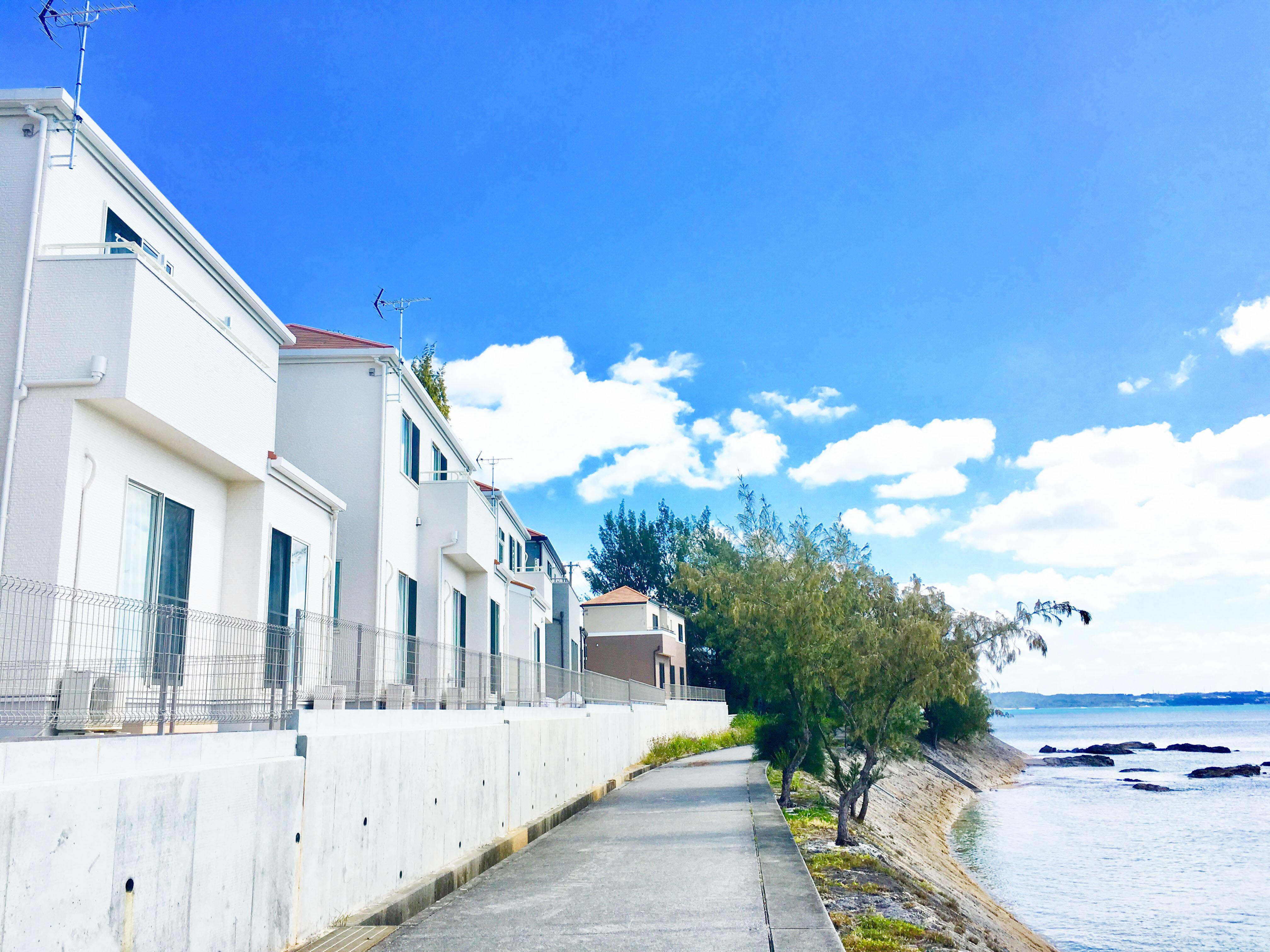 沖繩住宿-沖繩villa推薦-恩納村雙層獨棟旅居