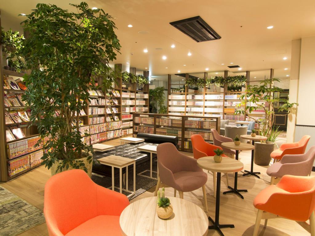 日本青年旅館推薦-日本住宿-Comicap Kyoto 京都漫畫膠囊旅館