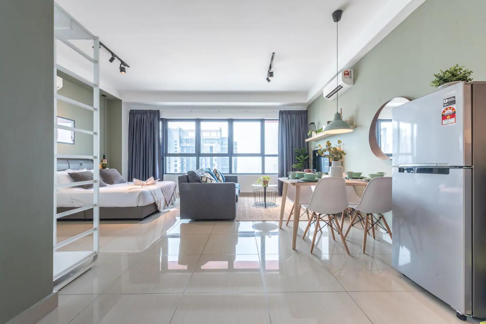 吉隆坡住宿-吉隆坡民宿-雙峰塔景觀舒適雅室