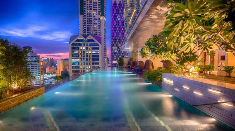 【無邊際泳池】沙吞易思廷大酒店(Eastin Grand Hotel Sathorn Bangkok)