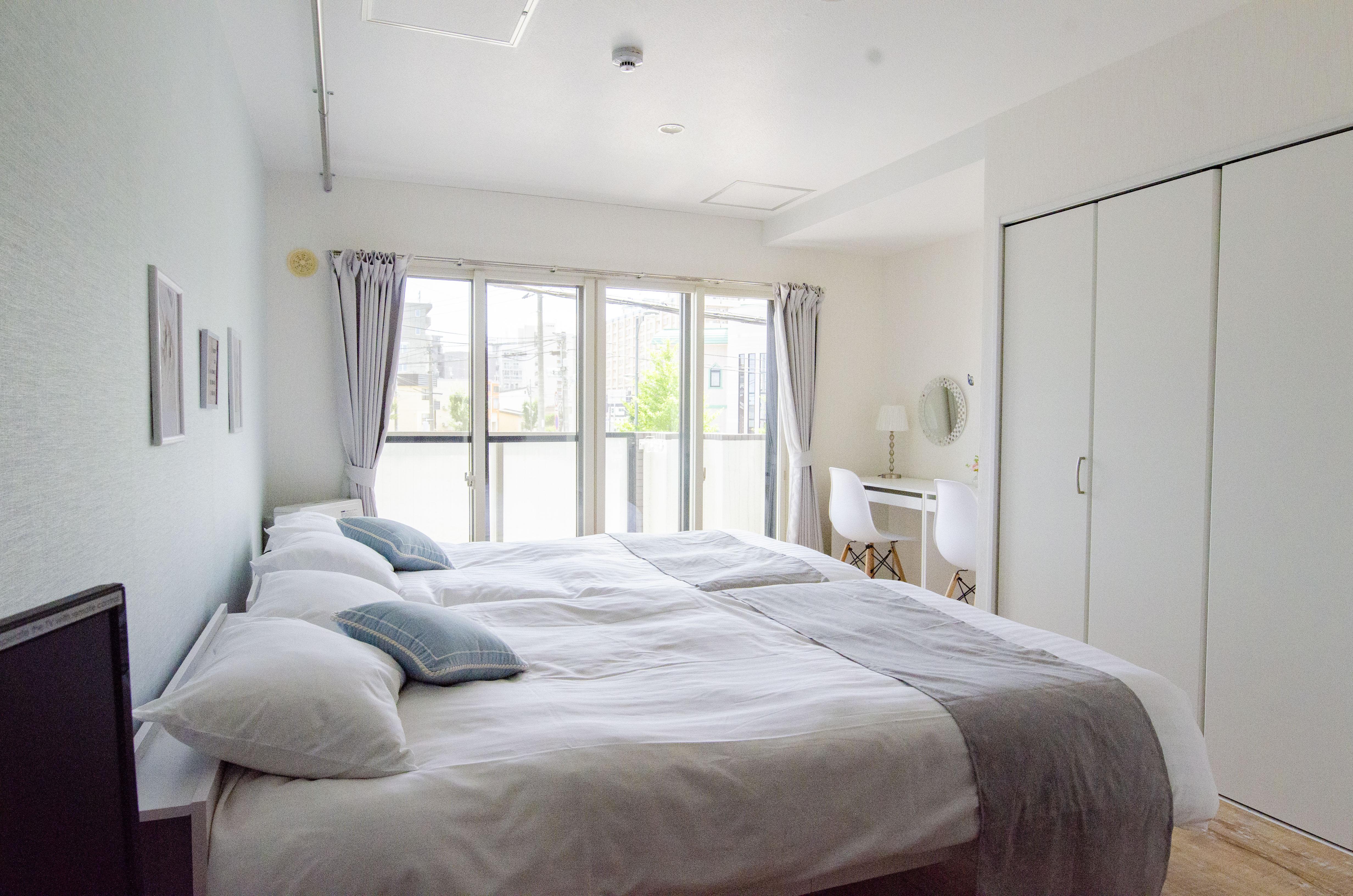 北海道住宿-旭川住宿-甜美舒適的公寓