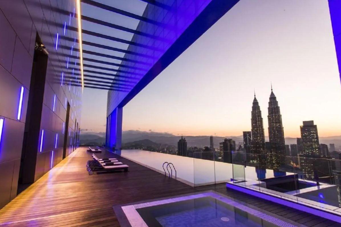吉隆坡住宿-吉隆坡民宿-【無邊際泳池】菲絲典雅舒適公寓