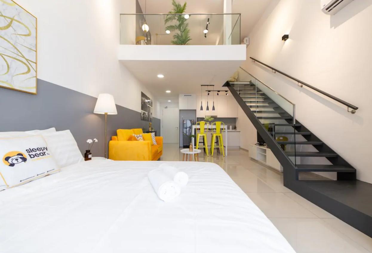 吉隆坡住宿-吉隆坡民宿-【無邊際泳池】CR-至尊複式舒適公寓