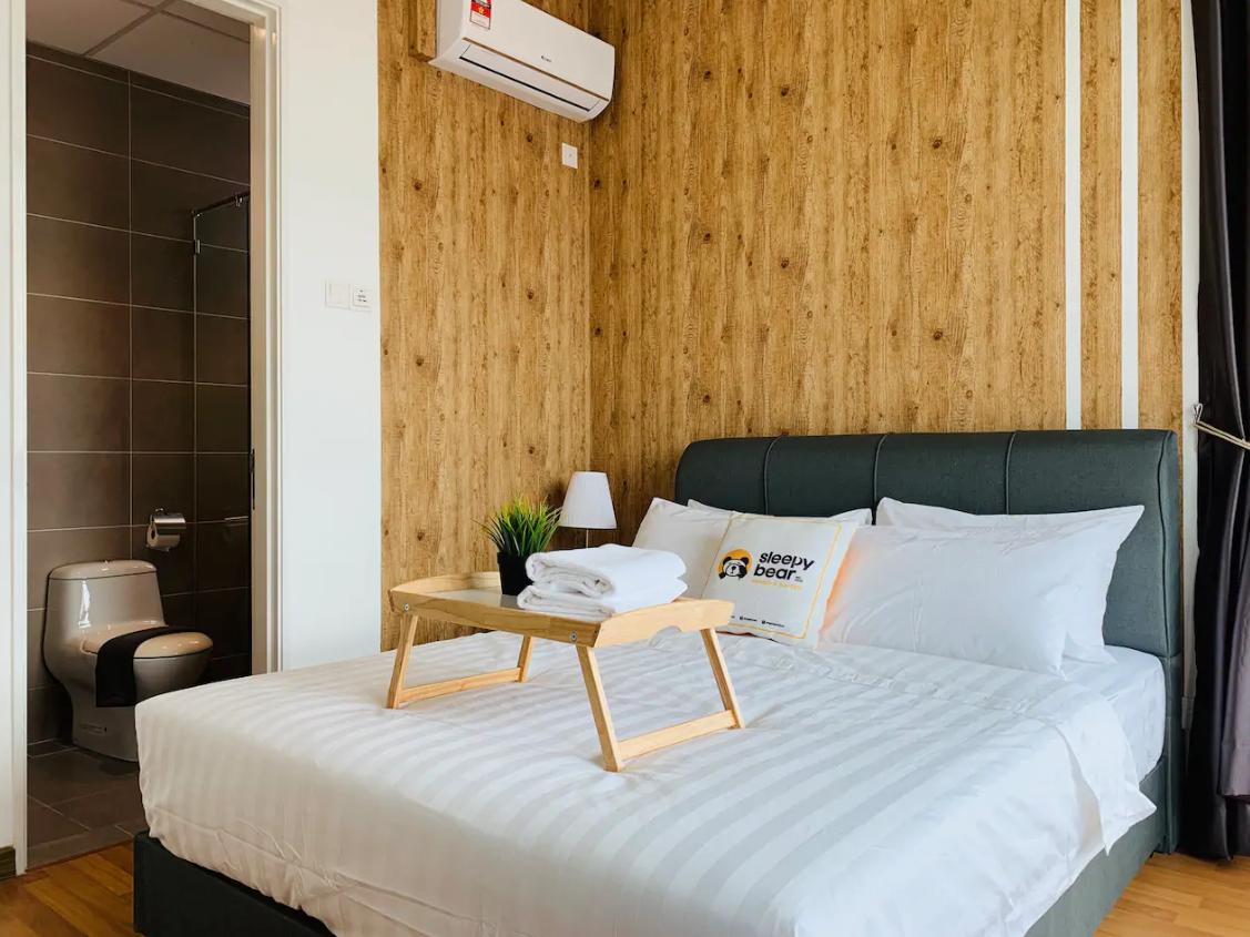 吉隆坡住宿-吉隆坡民宿-【無邊際泳池】HB3-百里香三臥室公寓